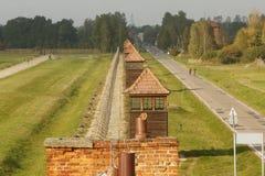 Στρατόπεδο συγκέντρωσης Auschwitz Birkenau Στοκ Εικόνες