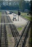 Στρατόπεδο συγκέντρωσης Auschwitz Birkenau Στοκ εικόνες με δικαίωμα ελεύθερης χρήσης