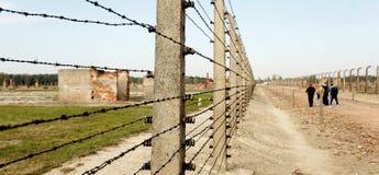 Στρατόπεδο συγκέντρωσης Auschwitz Birkenau Στοκ φωτογραφίες με δικαίωμα ελεύθερης χρήσης