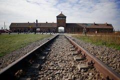 Στρατόπεδο συγκέντρωσης Auschwitz Brirkenau Στοκ εικόνες με δικαίωμα ελεύθερης χρήσης