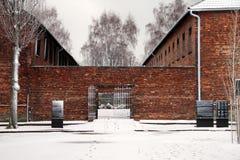 Στρατόπεδο συγκέντρωσης Birkenau Auschwitz Στοκ Εικόνα