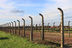 Στρατόπεδο συγκέντρωσης Birkenau Auschwitz Στοκ Εικόνες