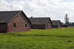 Στρατόπεδο συγκέντρωσης Birkenau Auschwitz. Στοκ εικόνα με δικαίωμα ελεύθερης χρήσης