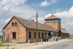 Στρατόπεδο συγκέντρωσης Birkenau Auschwitz Στοκ φωτογραφία με δικαίωμα ελεύθερης χρήσης