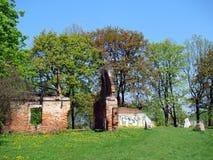 Στρατόπεδο συγκέντρωσης kraków-Plaszow KL - καταστροφές Στοκ φωτογραφία με δικαίωμα ελεύθερης χρήσης