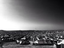 Στρατόπεδο του πρόσφυγα της Συρίας Kaworgosk Irbil - Ιράκ στοκ εικόνα