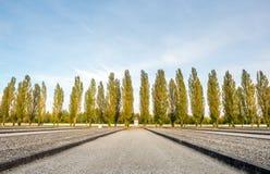 Στρατόπεδο concentraion Dachau στη Γερμανία Στοκ Εικόνα