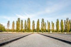 Στρατόπεδο concentraion Dachau στη Γερμανία Στοκ φωτογραφία με δικαίωμα ελεύθερης χρήσης