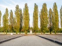 Στρατόπεδο concentraion Dachau στη Γερμανία Στοκ εικόνα με δικαίωμα ελεύθερης χρήσης