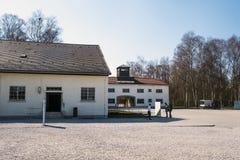 Στρατόπεδο Dachau, το πρώτο στρατόπεδο συγκέντρωσης στη Γερμανία κατά τη διάρκεια Worl Στοκ Φωτογραφίες