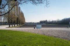 Στρατόπεδο Dachau, το πρώτο στρατόπεδο συγκέντρωσης στη Γερμανία κατά τη διάρκεια Worl Στοκ φωτογραφίες με δικαίωμα ελεύθερης χρήσης