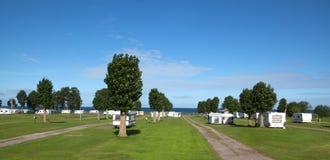 Στρατόπεδο Moto Στοκ Εικόνα