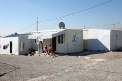 Στρατόπεδο Qadia IDP Στοκ Εικόνες