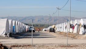 Στρατόπεδο Shariya IDP Στοκ Εικόνα