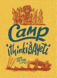Στρατόπεδο Yeti Στοκ Εικόνες