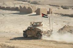 στρατός hmmwv Ιορδανός Στοκ φωτογραφία με δικαίωμα ελεύθερης χρήσης