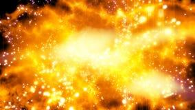 Στρεβλώνοντας κοσμική πυρκαγιά απόθεμα βίντεο