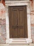 Στριμμένη πόρτα Στοκ Εικόνες