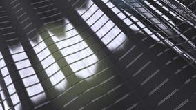 στριμμένο μέταλλο υπόβαθρο λωρίδων Στοκ Εικόνες