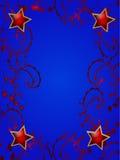 στριμωγμένο αστέρι πλαισί&omeg Στοκ φωτογραφία με δικαίωμα ελεύθερης χρήσης