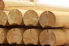 στρογγυλή ξυλεία Στοκ φωτογραφία με δικαίωμα ελεύθερης χρήσης