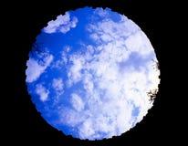 στρογγυλός ουρανός στοκ εικόνες