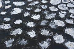 Στρογγυλός πάγος Στοκ εικόνα με δικαίωμα ελεύθερης χρήσης