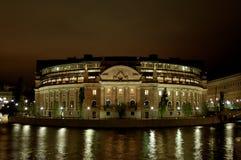 Στρογγυλό κτήριο Στοκ Φωτογραφίες