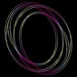 Στρογγυλό fractal απεικόνιση αποθεμάτων