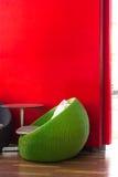 Στρογγυλά ψάθινα επιτραπέζια σύνολα Στοκ φωτογραφία με δικαίωμα ελεύθερης χρήσης