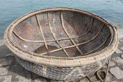 Στρογγυλή βάρκα, Βιετνάμ Στοκ Εικόνες