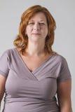 Στρογγυλή γυναίκα Στοκ εικόνες με δικαίωμα ελεύθερης χρήσης