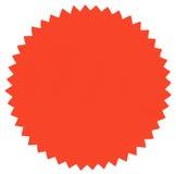 Στρογγυλή ετικέτα στοκ εικόνα με δικαίωμα ελεύθερης χρήσης