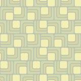 Στρογγυλευμένο άνευ ραφής σχέδιο ορθογωνίων Στοκ Φωτογραφίες