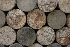 Στρογγυλός βράχος για την κατασκευή Στοκ Φωτογραφίες
