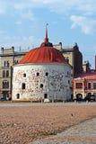 Στρογγυλός πύργος σε Vyborg Στοκ Εικόνες
