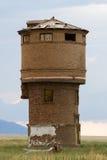 Στρογγυλός πύργος τούβλου Στοκ φωτογραφία με δικαίωμα ελεύθερης χρήσης