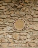 Στρογγυλός τοίχος κύκλων βράχου Στοκ εικόνα με δικαίωμα ελεύθερης χρήσης