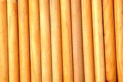 Στρογγυλό ξύλο ξυλείας Στοκ Φωτογραφία