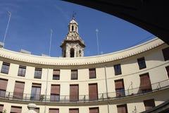 Στρογγυλό τετράγωνο (Plaza Redonda) στη Βαλένθια, Ισπανία Στοκ Εικόνες
