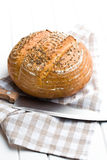 Στρογγυλό ψωμί Στοκ Εικόνες