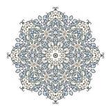 Στρογγυλό kaleidoscopic διακοσμητικό υπόβαθρο mandala Στοκ Εικόνα