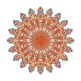 Στρογγυλό Mandala Αραβική, ινδική, ισλαμική, οθωμανική διακόσμηση Στοκ Εικόνες