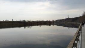 Στροφές ποταμών Στοκ φωτογραφία με δικαίωμα ελεύθερης χρήσης