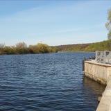 Στροφές ποταμών Στοκ εικόνα με δικαίωμα ελεύθερης χρήσης