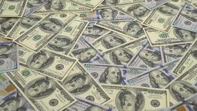 Στροφές χρημάτων - το υπόβαθρο απόθεμα βίντεο