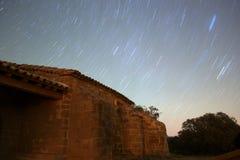 στροφή αστεριών Στοκ Εικόνες
