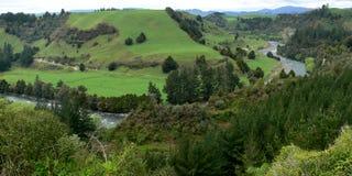 Στροφή ποταμών στοκ φωτογραφία