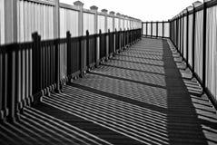 στροφή σκιών μονοπατιών Στοκ εικόνες με δικαίωμα ελεύθερης χρήσης