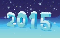 Στροφή του έτους Στοκ Εικόνα